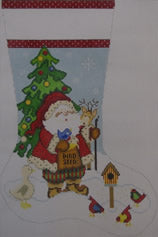 Santa and the Birds 1357F