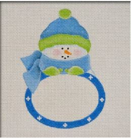 Blue Boy Snowbaby Plaque