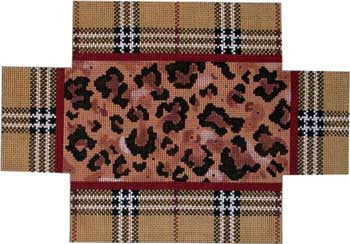 Plaid / Leopard Brick cover
