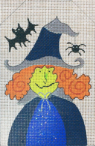 Batty Witch Tag