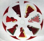 Marching Santas Tree Skirt