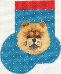 Chow Chow Mini Sock ab356