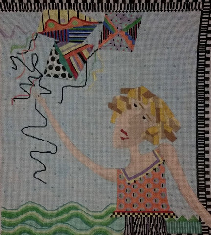 Penny Macleod:PM221 EVE FLIES A KITE 14X16 18