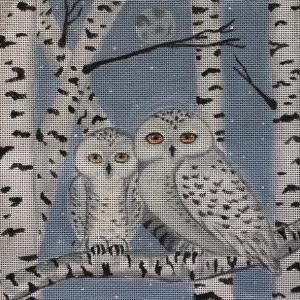 Birch Snowy Owls