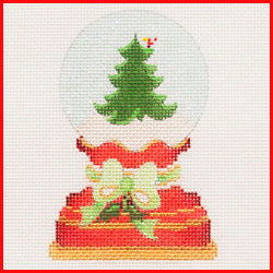 Christmas Tree Snowglobe