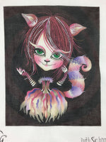 Cheshire Cat - Canvas, Stitch Guide & Instructional Videos