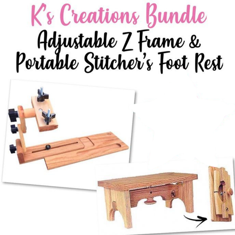 Adjustable Z Frame + Foot Rest Bundle