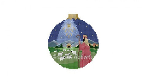 "Nativity Shepherd, 3"" round 7232"