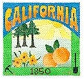 California Postcard - BeStitched Needlepoint