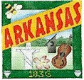 Arkansas Postcard - BeStitched Needlepoint