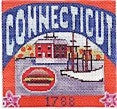 Connecticut Postcard - BeStitched Needlepoint