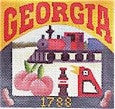 Georgia Postcard - BeStitched Needlepoint