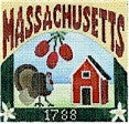 Massachusetts Post - BeStitched Needlepoint