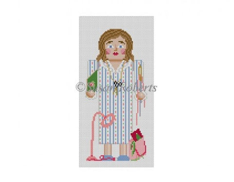 Nutcracker, Needlepointer 4324