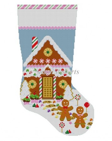 Gingerbread House, stocking 3224
