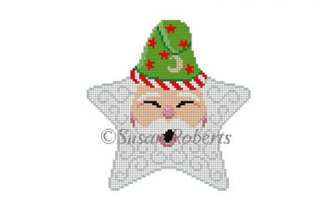 Star, Santa Face, stars hat
