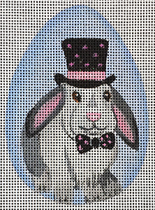 Top Hat Bunny Egg