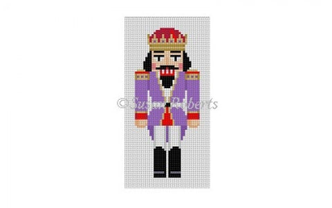 Purple King Nutcracker, ornament 5842