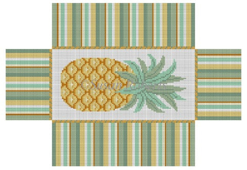 Pineapple, brick cover