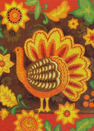 Stitch Guide Folk Turkey