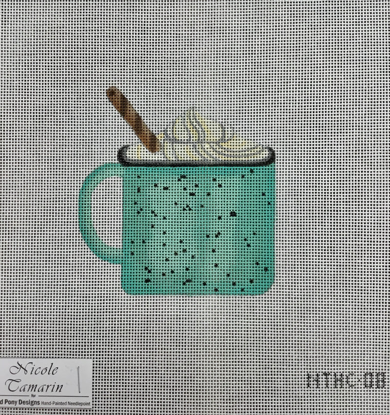 NT-HC08 - HC in a Blue Tin Cup NEW