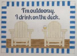 Im outdoorsy…deck