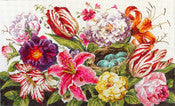 Floral/Bird Nest - BeStitched Needlepoint