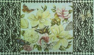 Magnolias - BeStitched Needlepoint