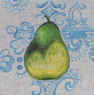 Pear - BeStitched Needlepoint