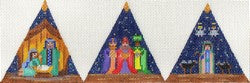 3D Triangle Nativity ab255
