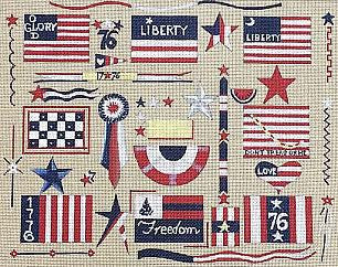 Flags - BeStitched Needlepoint