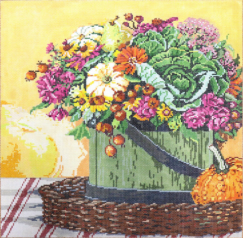 Floral With Gourd