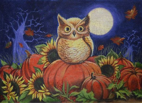 Pumpkin Patch Owl