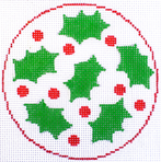 Holly Coaster/Ornament