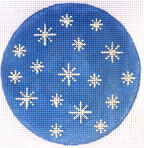 Snowflakes Coaster/Ornament