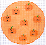 Pumpkins Coaster/Ornament