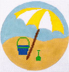 Umbrella Coaster Yellow