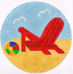 Lounge Coaster Red