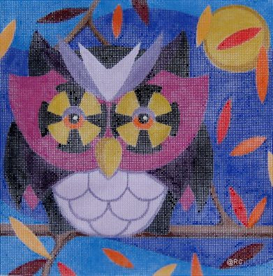 Autumn Owl - BeStitched Needlepoint