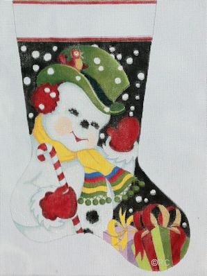 Jolly Snowman Stocking