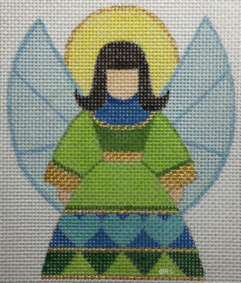 Blue Angel - BeStitched Needlepoint