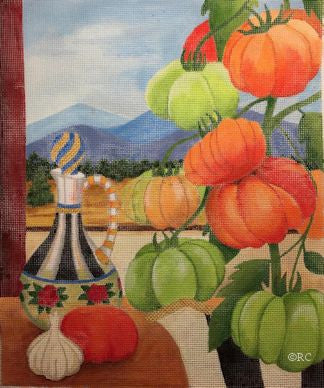 Heirloom Tomatoes - BeStitched Needlepoint
