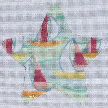 Lilly Inspired Sail Boat Star