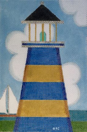 Blue Lighthouse