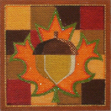 Autumn Quilt - BeStitched Needlepoint