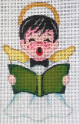 Boy Choir Singer - BeStitched Needlepoint
