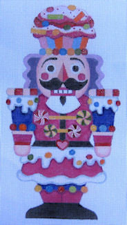 Candy Nutcracker - BeStitched Needlepoint