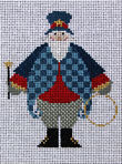 Uncle Sam Kringle - includes stitch guide