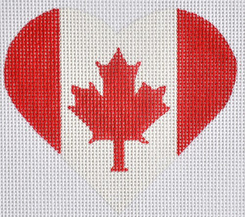 Canadian Flag Heart