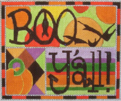 Boo Y'All - BeStitched Needlepoint
